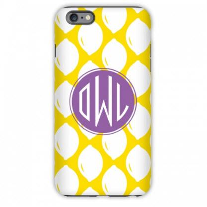 Monogrammed iPhone Case Meyer Print  Electronics > Communications > Telephony > Mobile Phone Accessories > Mobile Phone Cases