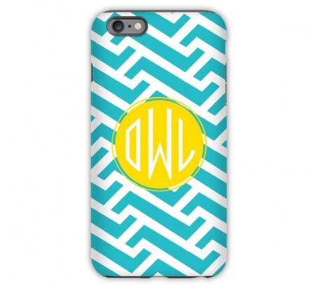 Monogrammed iPhone Case Grasshopper  Electronics > Communications > Telephony > Mobile Phone Accessories > Mobile Phone Cases