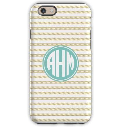 Personalized iPhone Case Rope Stripe  Electronics > Communications > Telephony > Mobile Phone Accessories > Mobile Phone Cases