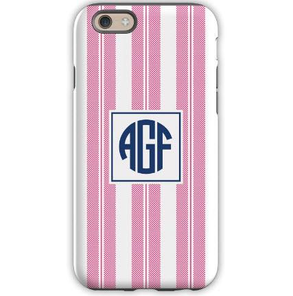 Personalized iPhone Case in Vineyard Stripe   Electronics > Communications > Telephony > Mobile Phone Accessories > Mobile Phone Cases