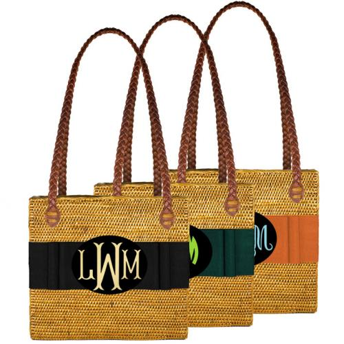 Monogrammed Rectangle Bali Bag   Apparel & Accessories > Handbags > Shoulder Bags