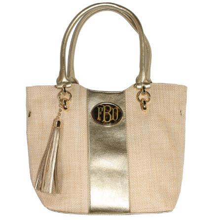 Bosom Buddy Monogrammed Petite Shopper Tote  Apparel & Accessories > Handbags > Shoulder Bags
