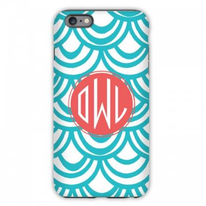 Personalized iPhone Case Seashell Pattern  Electronics > Communications > Telephony > Mobile Phone Accessories > Mobile Phone Cases