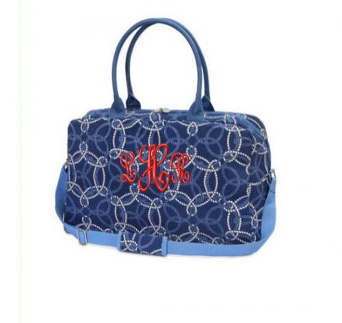 Monogrammed Large EVA Duffel Knot-ical   Luggage & Bags > Duffel Bags