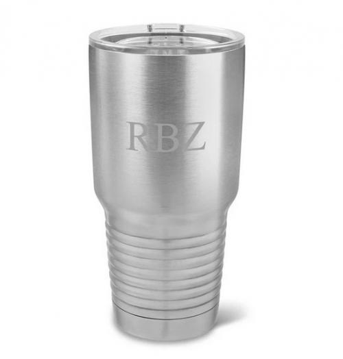 Monogrammed Husavik Stainless Steel 30 ounce Tumbler  Home & Garden > Kitchen & Dining > Tableware > Drinkware > Tumblers