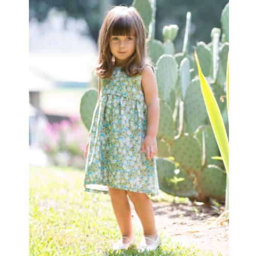 Olive Meadow Dress for Little Girls  Apparel & Accessories > Clothing > Baby & Toddler Clothing > Baby & Toddler Dresses