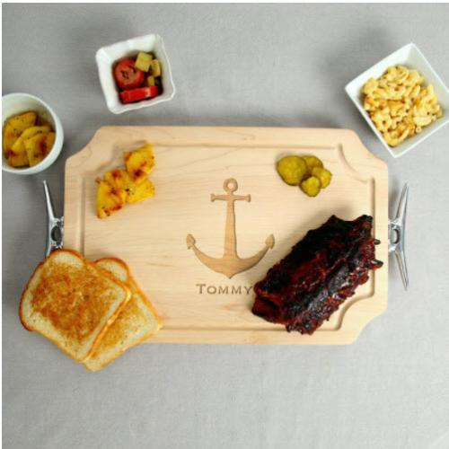 Personalized Nautical Serving Tray  Home & Garden > Kitchen & Dining > Tableware > Serveware > Serving Trays