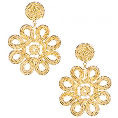 Lisi Lerch Cameran Gold Earrings  Apparel & Accessories > Jewelry > Earrings
