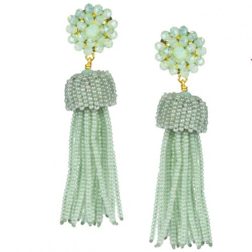 Lisi Lerch Margarita Tassel Earrings  Apparel & Accessories > Jewelry > Earrings