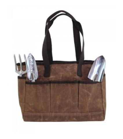 Monogrammed Khaki Canvas Utility Tote   Apparel & Accessories > Handbags > Tote Handbags