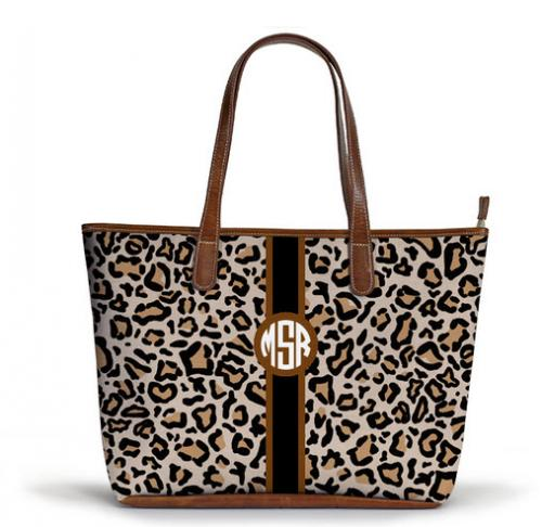 Barrington Savannah Zippered Monogrammed Fall Tote with Stripes  Apparel & Accessories > Handbags > Tote Handbags