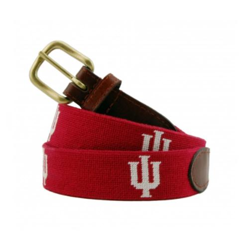Smathers and Branson Indiana University Needlepoint Belt  Apparel & Accessories > Clothing Accessories > Belts