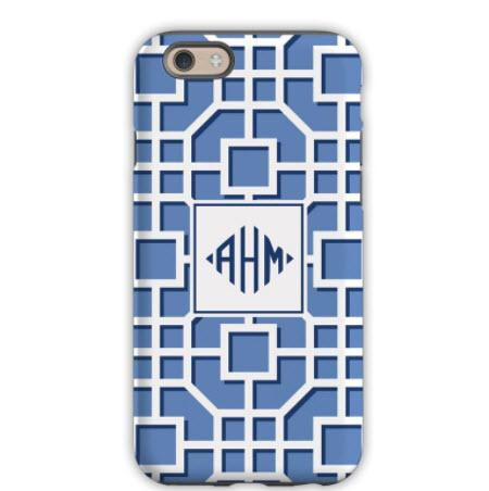 Personalized Phone Case Fret Navy  Electronics > Communications > Telephony > Mobile Phone Accessories > Mobile Phone Cases