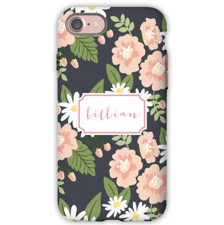 Personalized iPhone Case Lillian Floral  Electronics > Communications > Telephony > Mobile Phone Accessories > Mobile Phone Cases