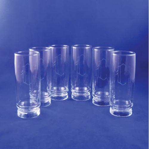 Monogrammed Retro Coolers Set of 6  Home & Garden > Kitchen & Dining > Tableware > Drinkware > Tumblers