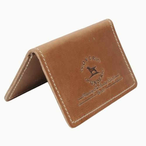 Personalized Horween Leather Sportsmans Business Card Holder  Office Supplies > Filing & Organization > Business Card Books