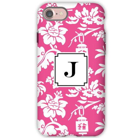 Personalized iPhone Case Anna Floral Raspberry  Electronics > Communications > Telephony > Mobile Phone Accessories > Mobile Phone Cases