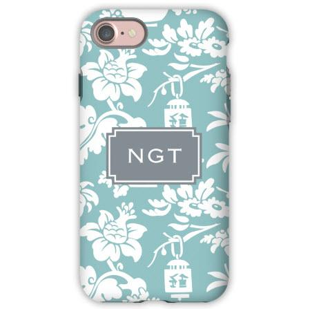 Personalized Phone Case Anna Floral Slate  Electronics > Communications > Telephony > Mobile Phone Accessories > Mobile Phone Cases
