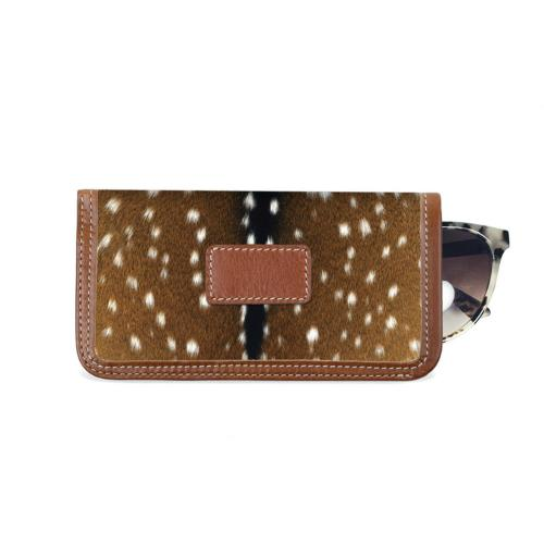 Barrington Eyeglass Case Fall Leather Patch  Apparel & Accessories > Handbags, Wallets & Cases