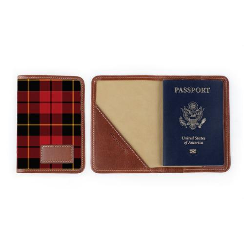 Barrington Glasgow Passport Case Fall Leather Patch  Luggage & Bags > Luggage Accessories