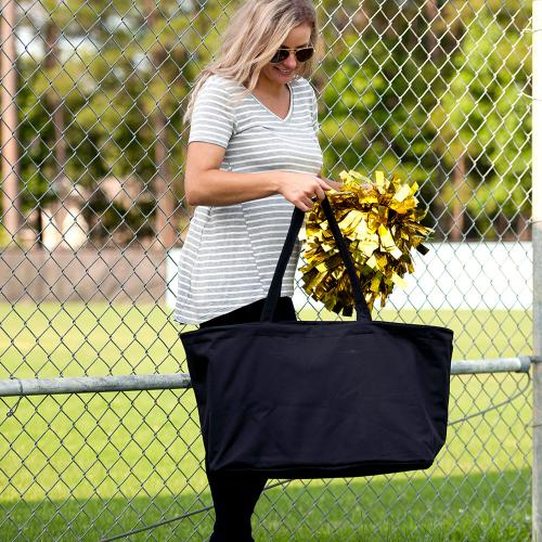 Personalized Black Ultimate Tote  Home & Garden > Household Supplies > Storage & Organization > Utility Baskets