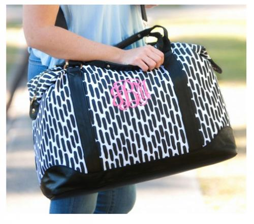 Personalized Carolina Night Weekender Bag  Luggage & Bags > Suitcases > Carry-On Luggage