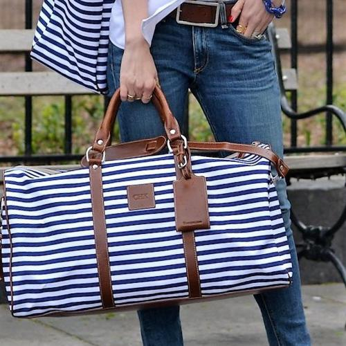 Monogrammed Belmont Cabin Bag Spring Leather Patch  Luggage & Bags > Suitcases > Carry-On Luggage
