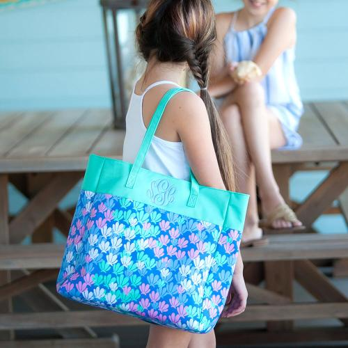 Personalized Mer-Mazing Everything Tote  Apparel & Accessories > Handbags > Tote Handbags