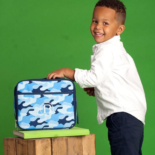 Personalized Cool Camo Lunch Box  Home & Garden > Kitchen & Dining > Food & Beverage Carriers > Lunch Boxes & Totes