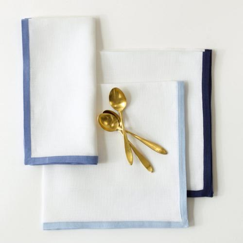 Matouk Irish Linen Border Napkins Matouk Irish Linen Border Napkins Home & Garden > Linens & Bedding > Table Linens > Cloth Napkins
